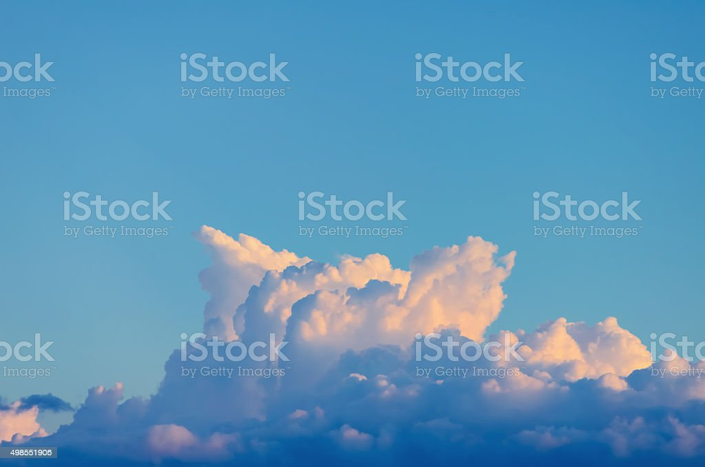 Strange Clouds in the Sky stock photo