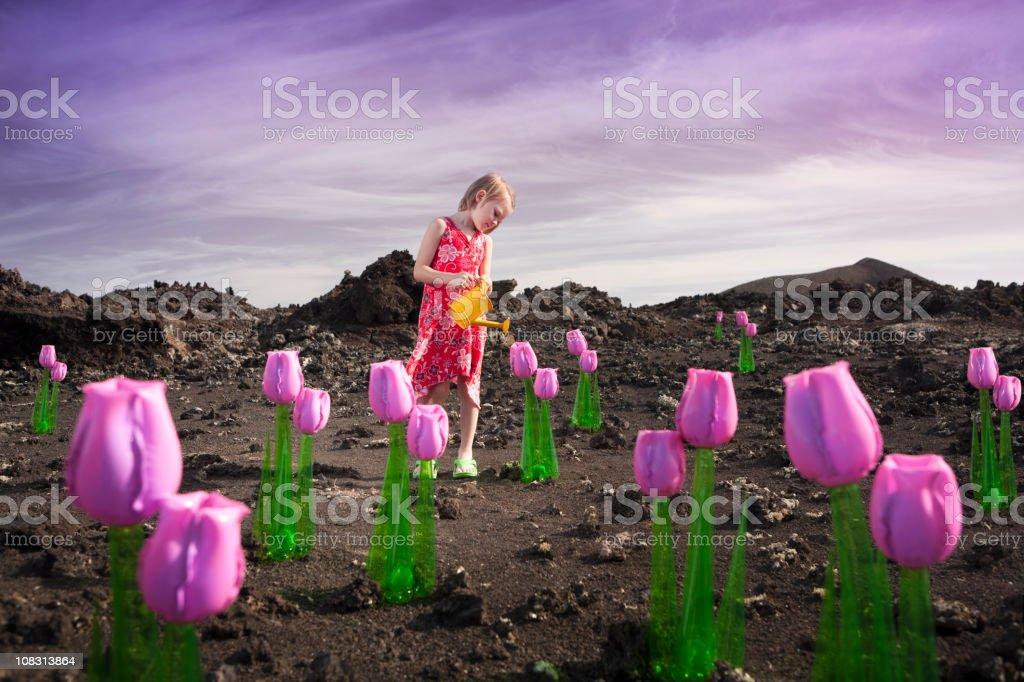 Strange environment stock photo
