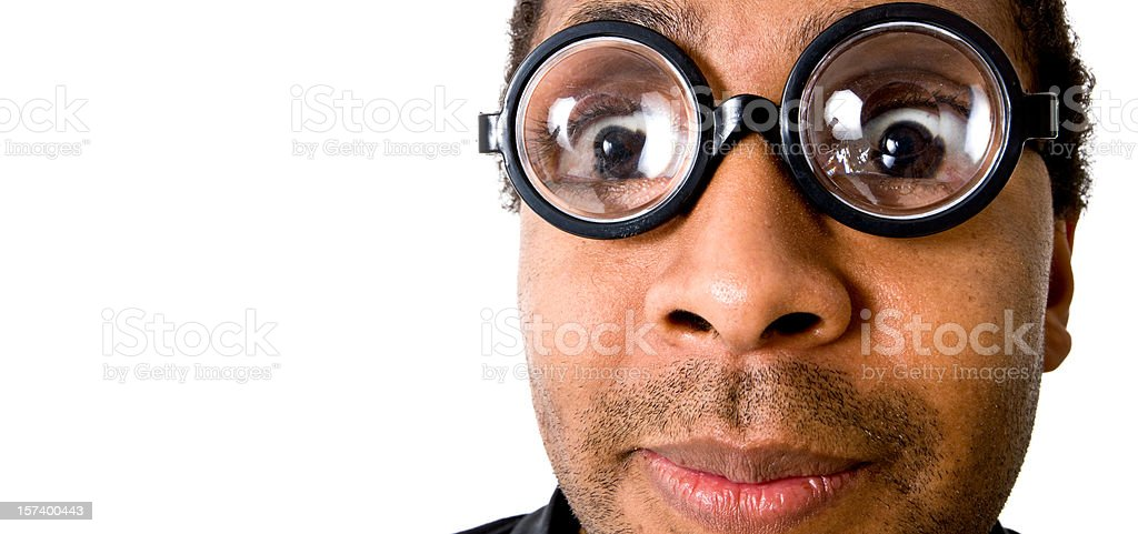 Strange guy royalty-free stock photo