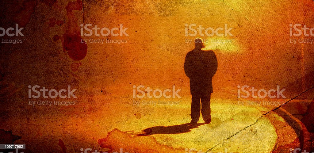 Stranger in the Night royalty-free stock photo