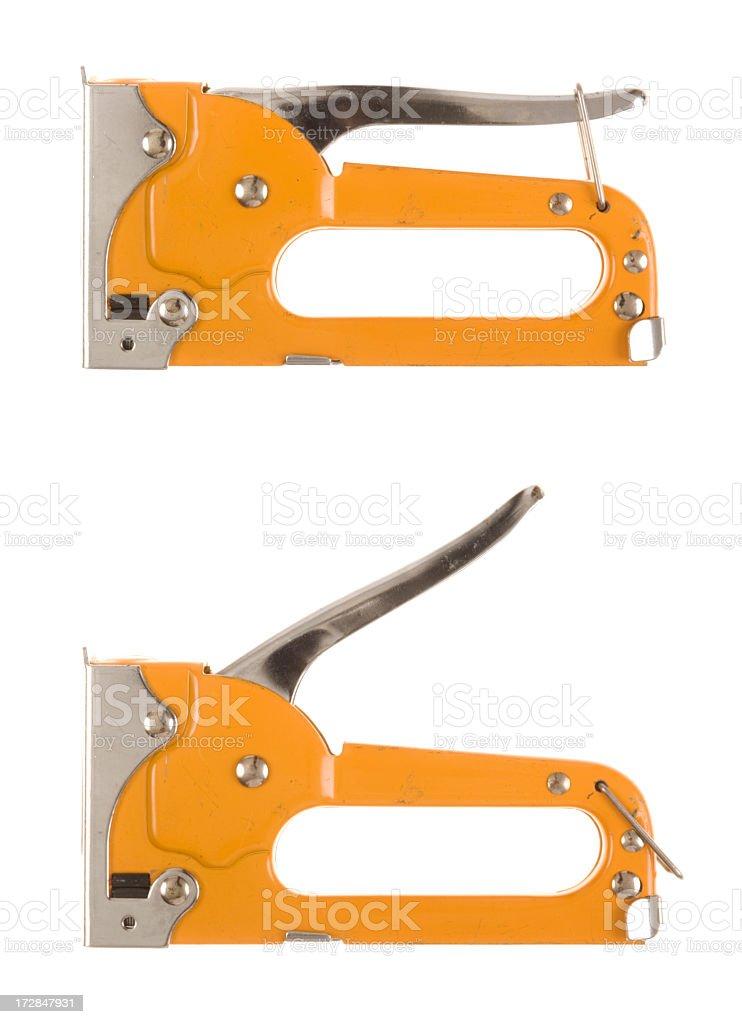 Straple Gun stock photo