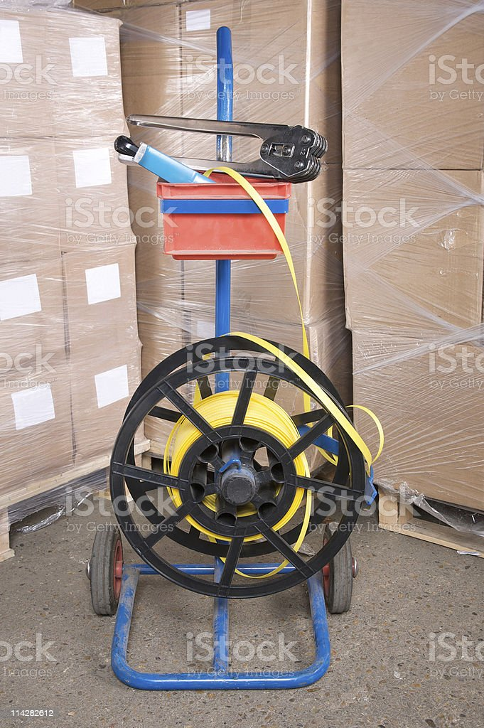 Strapping... stock photo