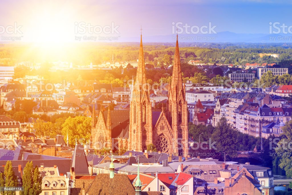 Strasbourg, Alsace, France stock photo