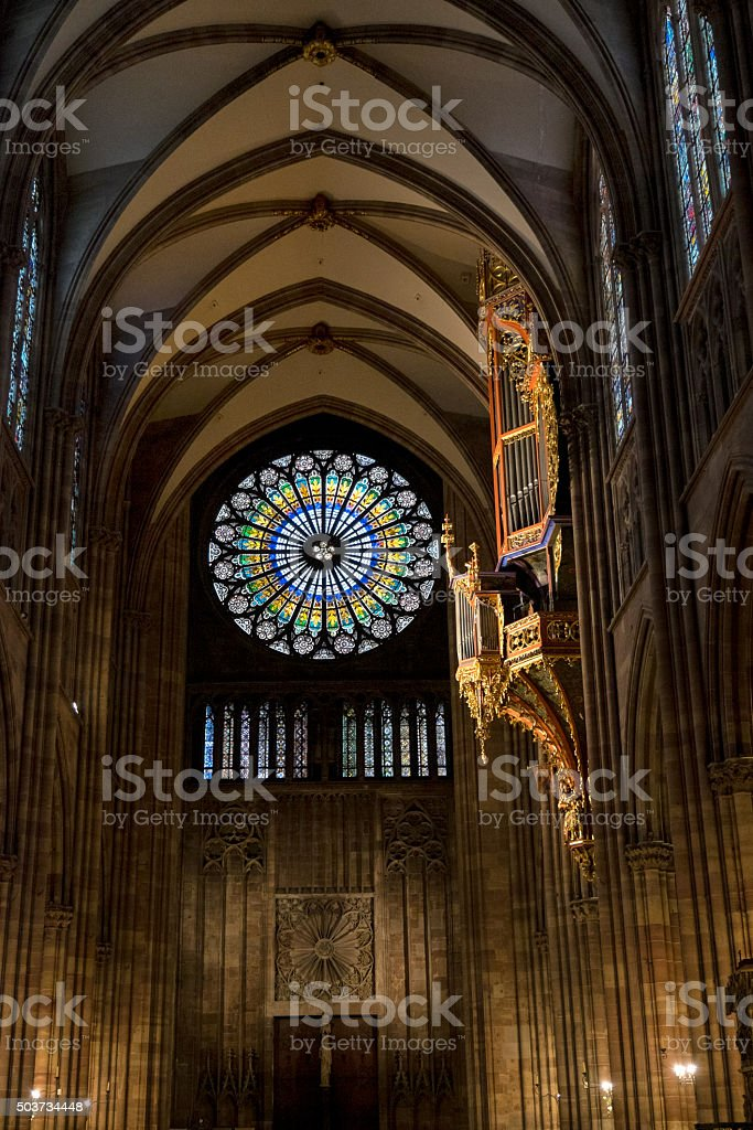 Strasbourg Cathedral stock photo