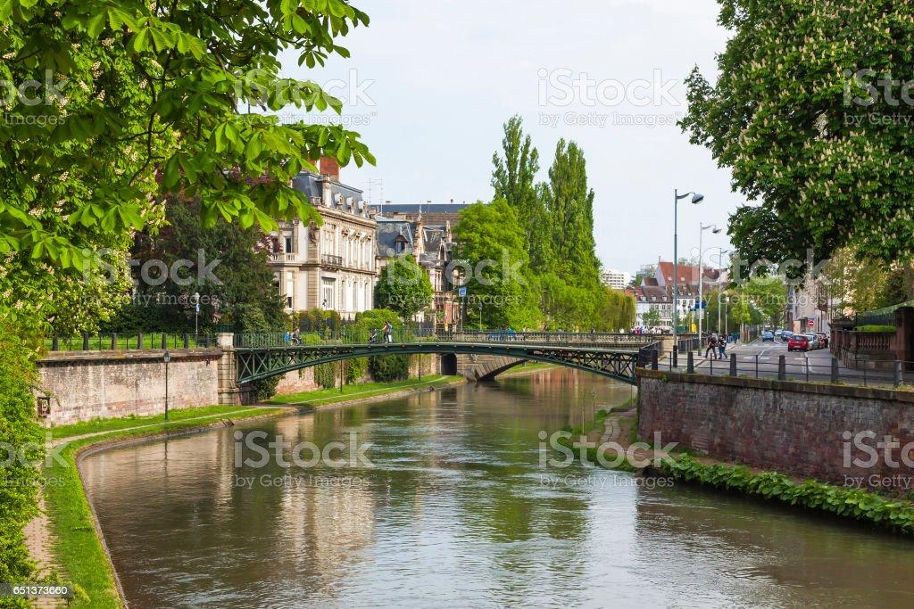 Strasbourg city, France stock photo