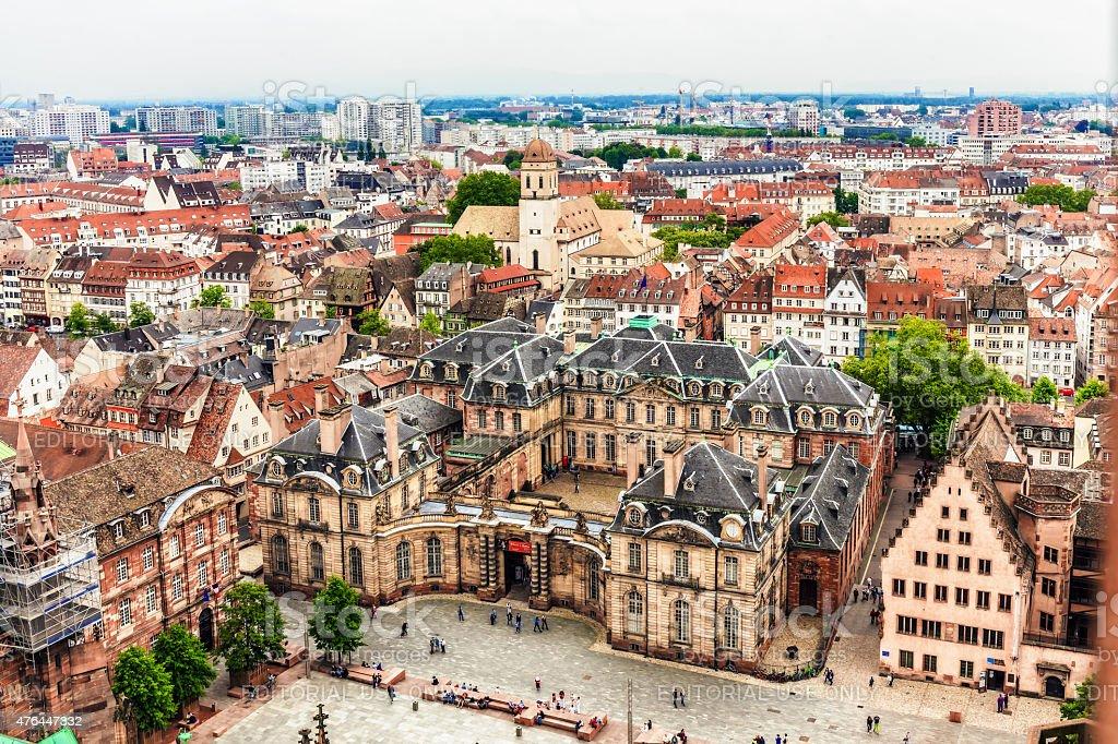 Strasbourg City stock photo