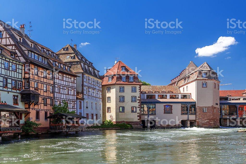 Strasbourg. District 'little France' Frantsiya.Evropa. stock photo