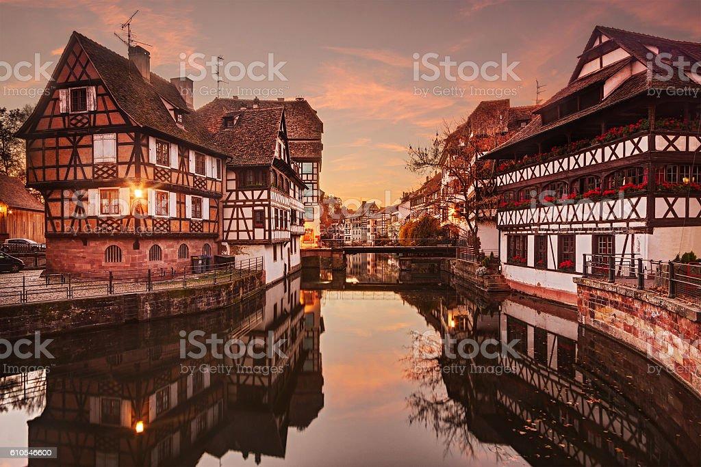 Strasbourg, France. stock photo