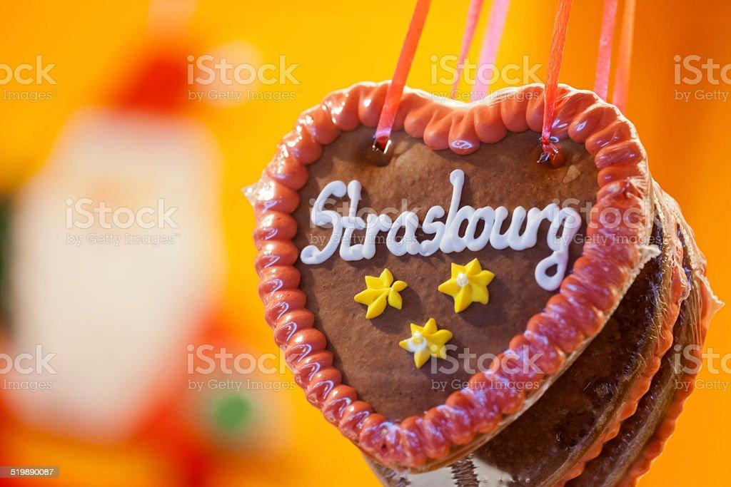 Strasbourg Gingerbread stock photo