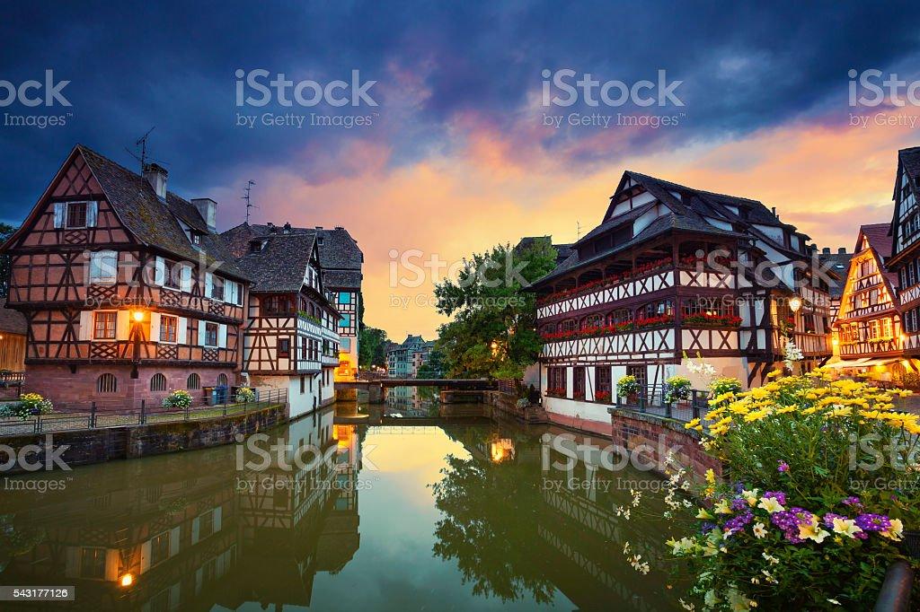 Strasbourg. stock photo