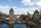 Strasburg, Germany. and The River Ille
