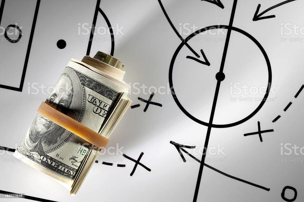 Strategic investment royalty-free stock photo