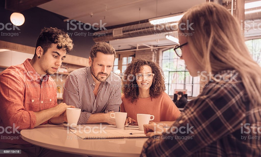 Strategy and planning stock photo