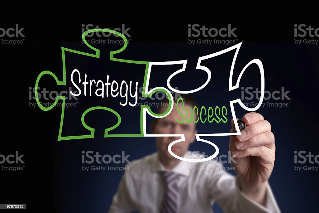 Strategy And Success stock photo