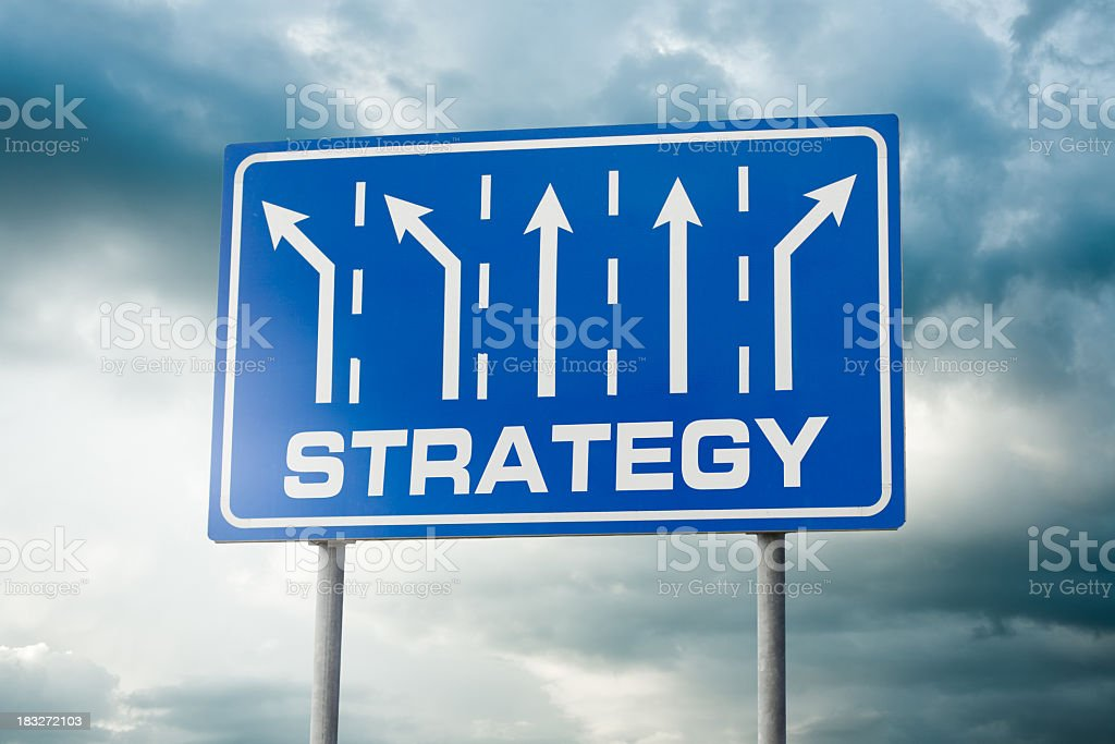 Strategy Choices royalty-free stock photo