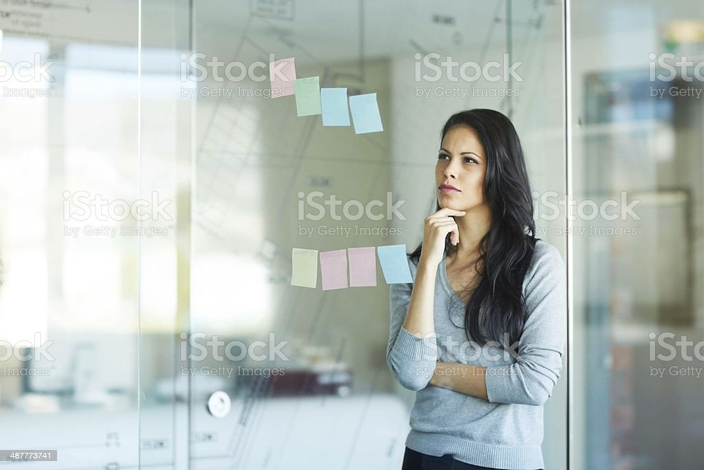 Strategy is the most important part of any business venture stock photo