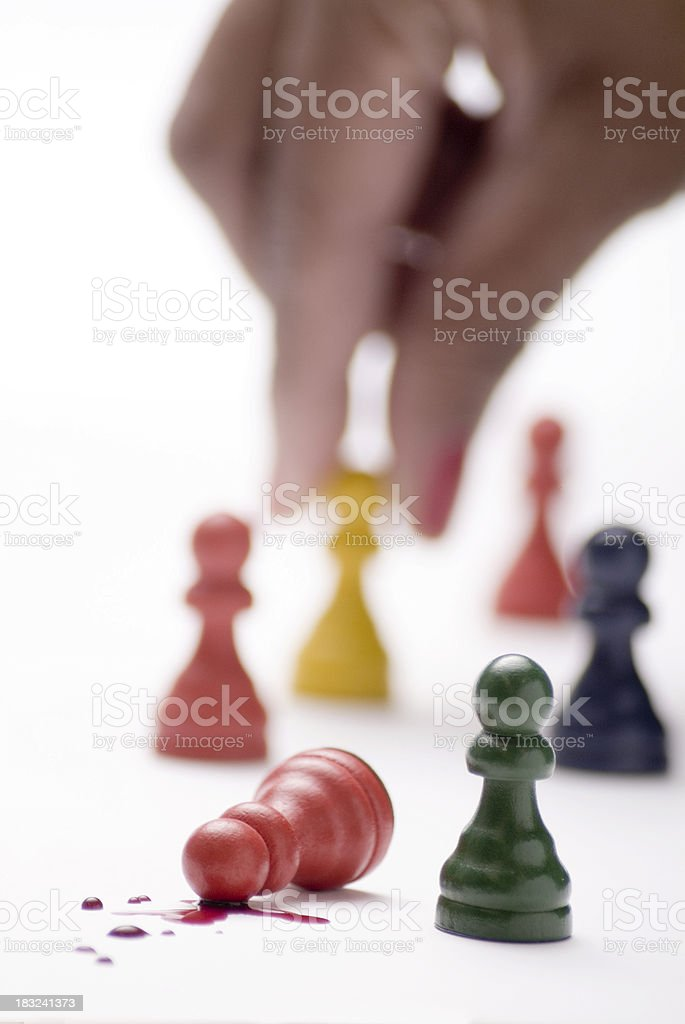 Strategy: Making the Right Move royalty-free stock photo