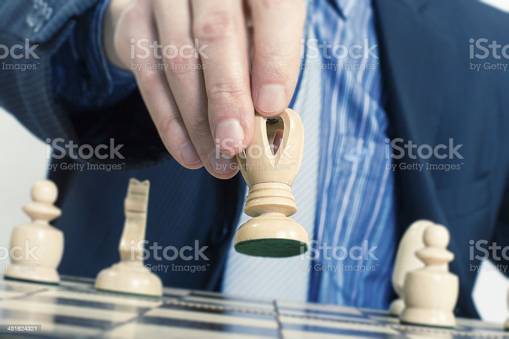 strategy or leadership concept royalty-free stock photo