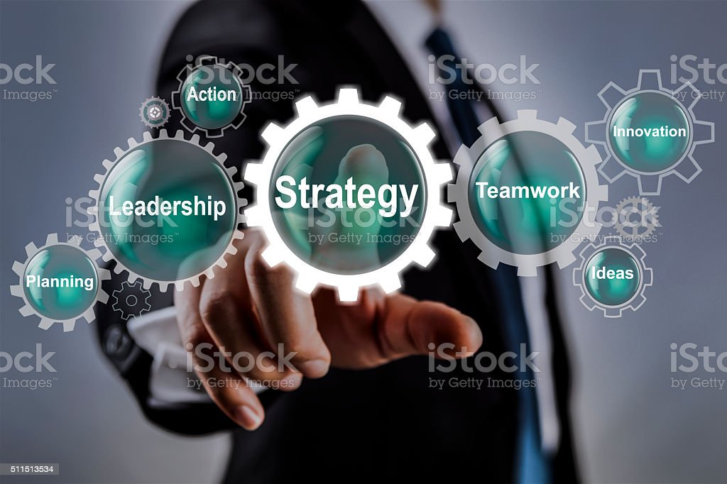 Strategy stock photo