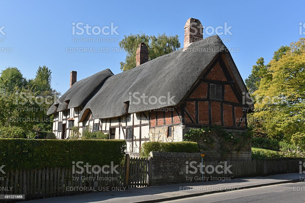 Stratford Cottage stock photo