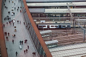 Stratford Railway Station London from above