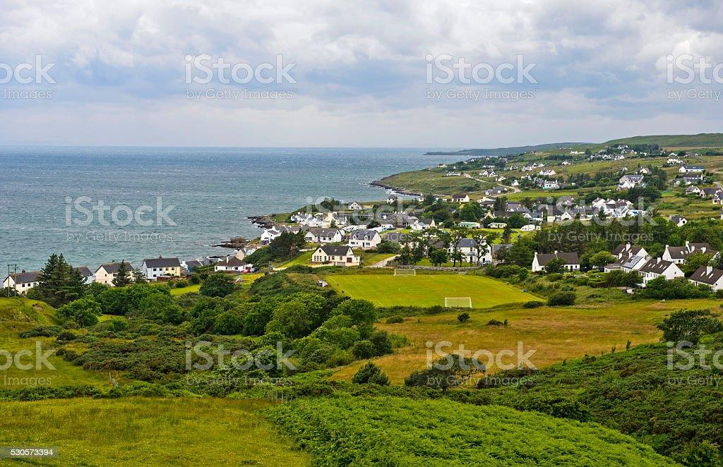 Strath, Gairloch, Scotlan stock photo