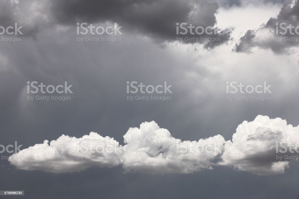 Stratocumulus Cloud Sky Storm Weather stock photo