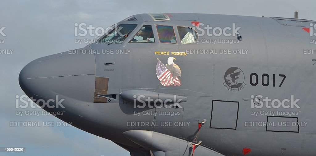 B-52 Stratofortress Bomber stock photo