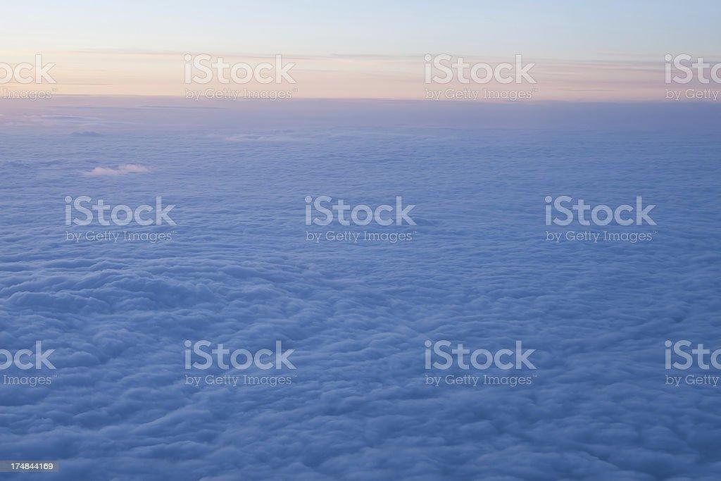 Stratosphere royalty-free stock photo