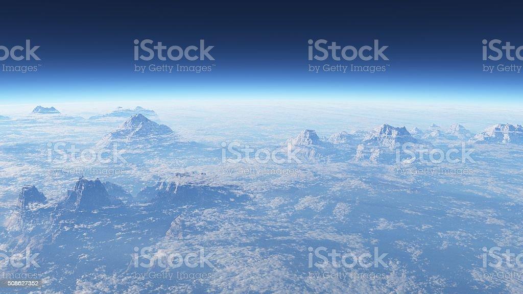 estratosfera stock photo
