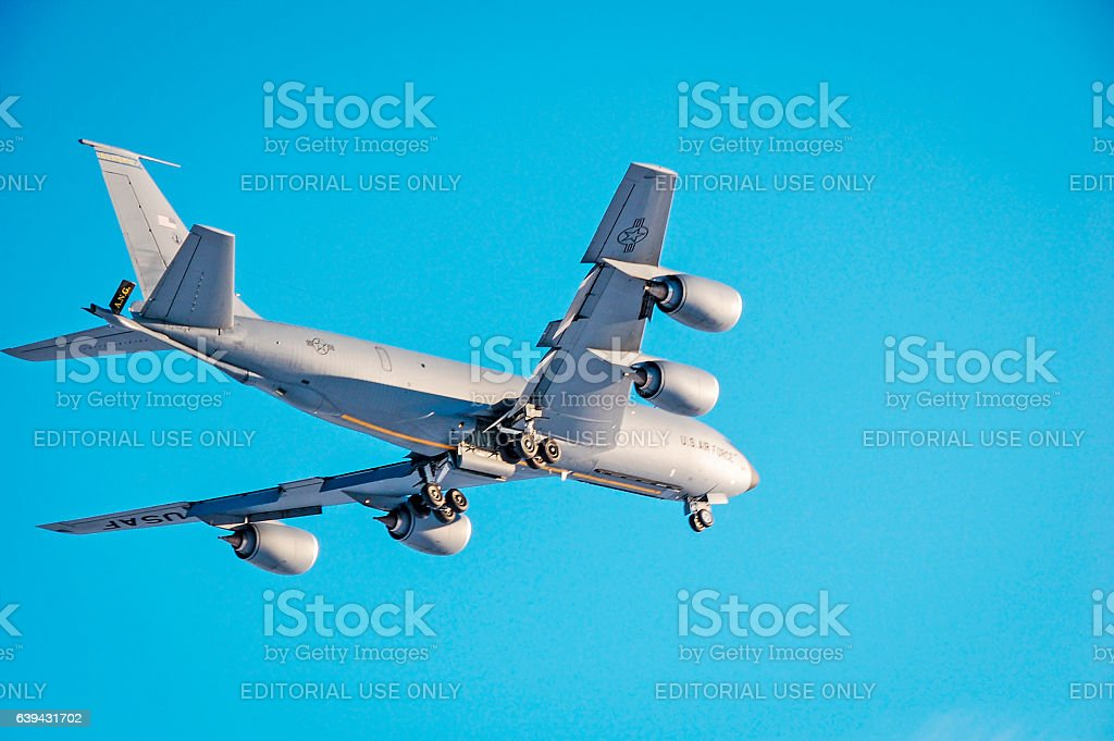 Stratotanker – Military Plane - KC-135 US Airforce stock photo
