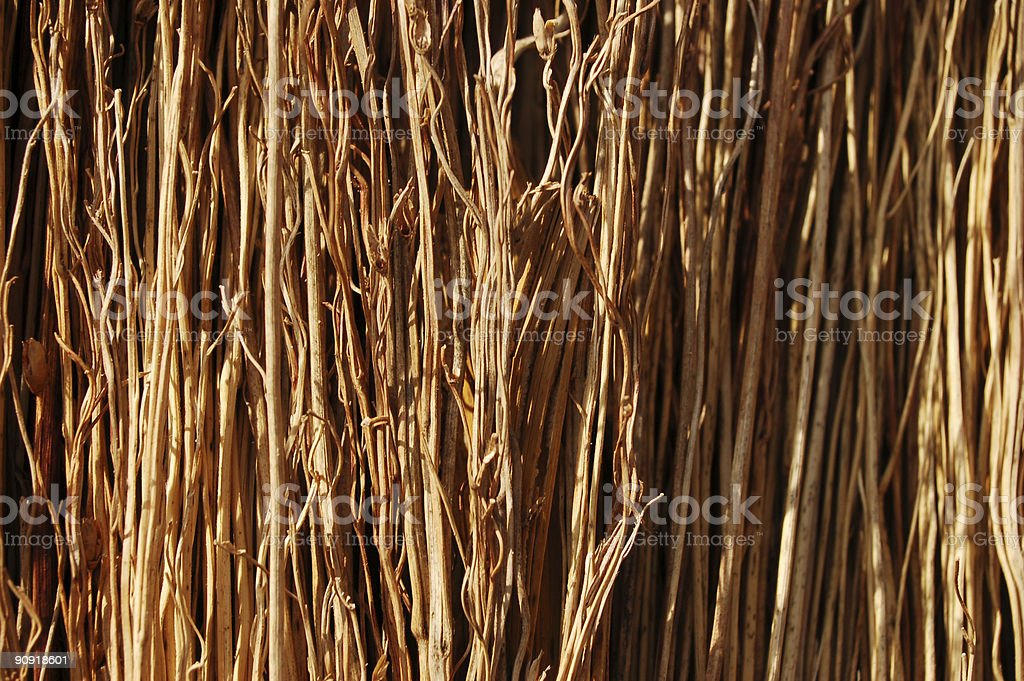 straw background #2 royalty-free stock photo