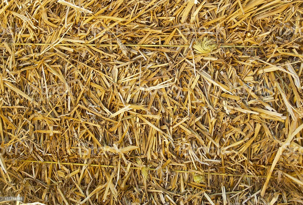 Straw Bale royalty-free stock photo
