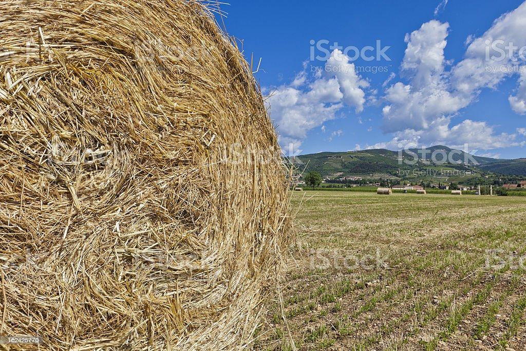 Straw Bale royalty-free stock photo