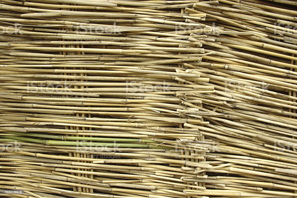 Straw construction royalty-free stock photo