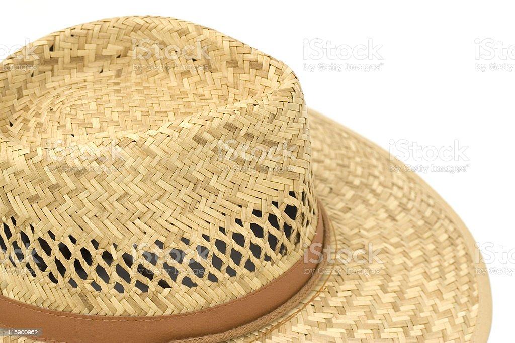straw hat royalty-free stock photo