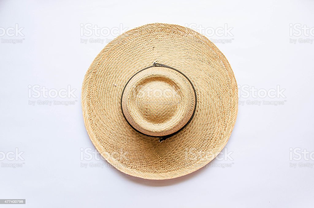 ??????Straw Hat stock photo