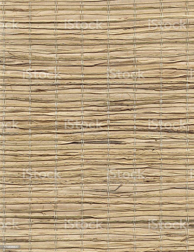 Straw Mat background royalty-free stock photo