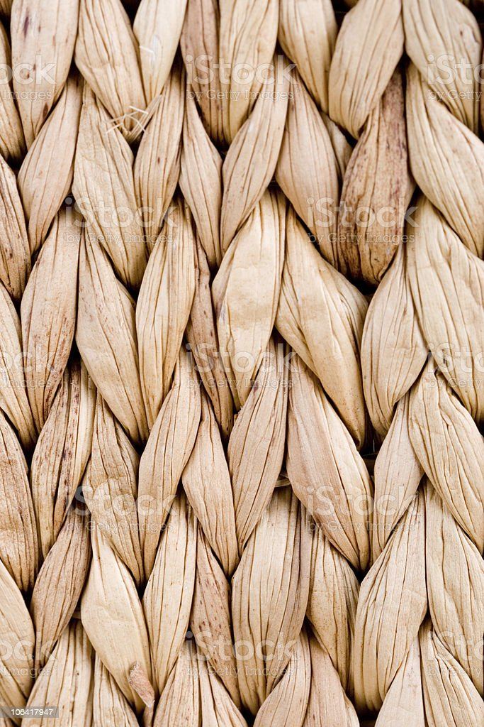 straw mat royalty-free stock photo