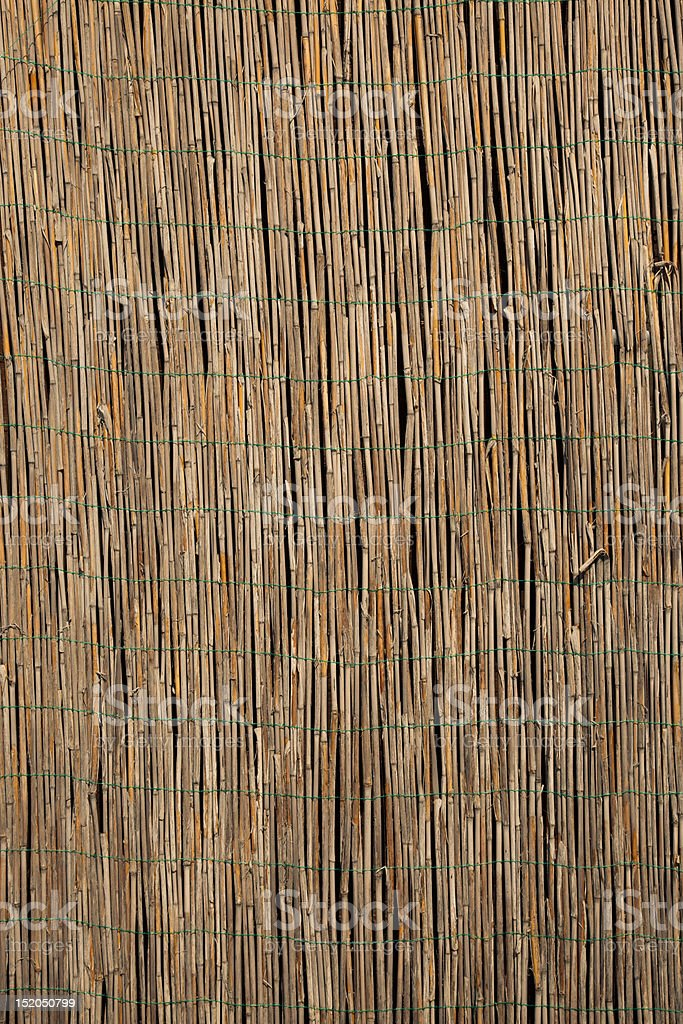 Straw mat royalty-free stock photo
