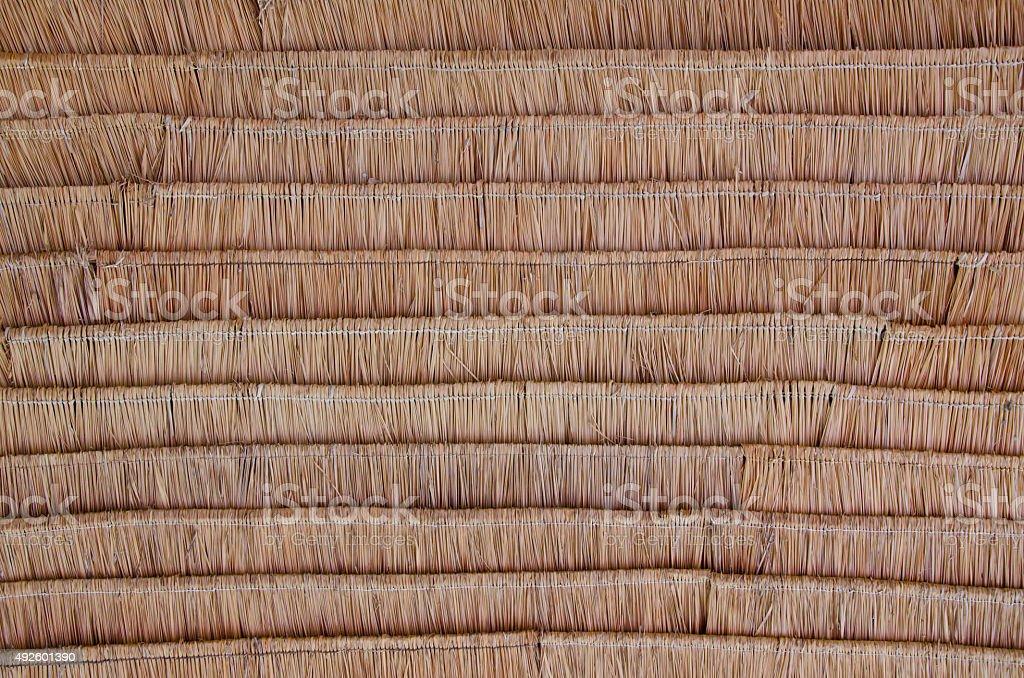 Straw pattern stock photo