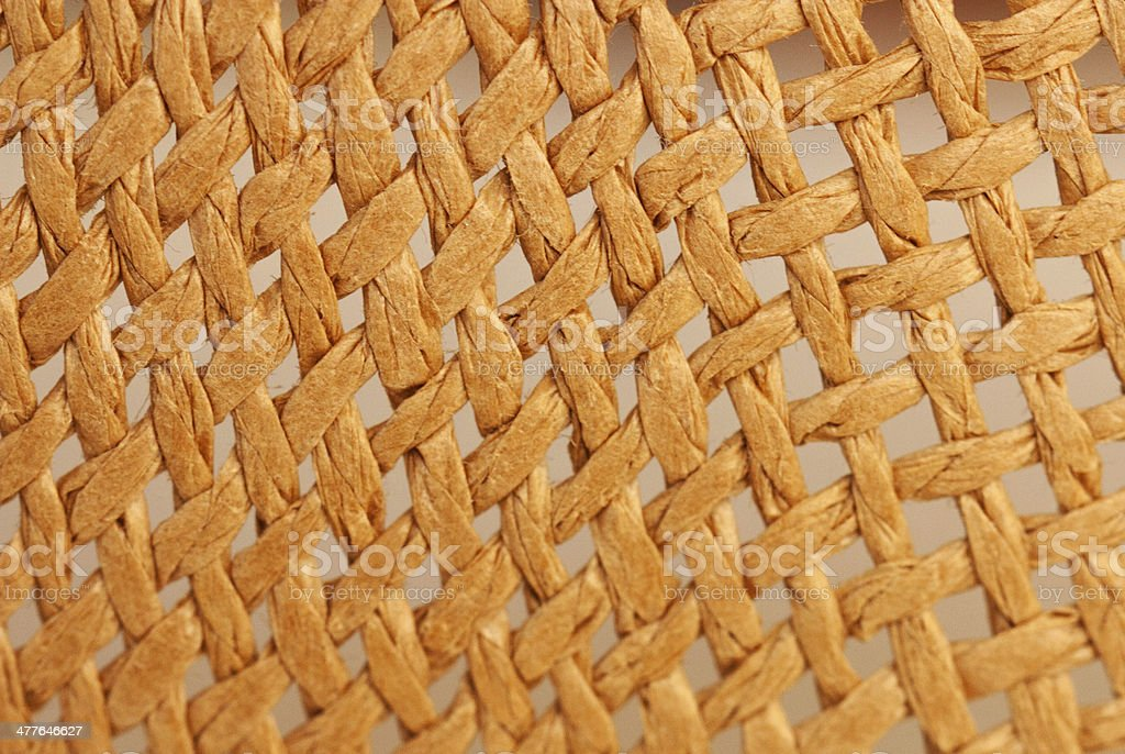 Straw pattern texture royalty-free stock photo
