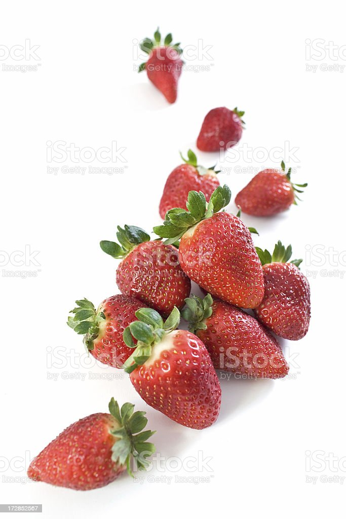 Strawberries Composition stock photo