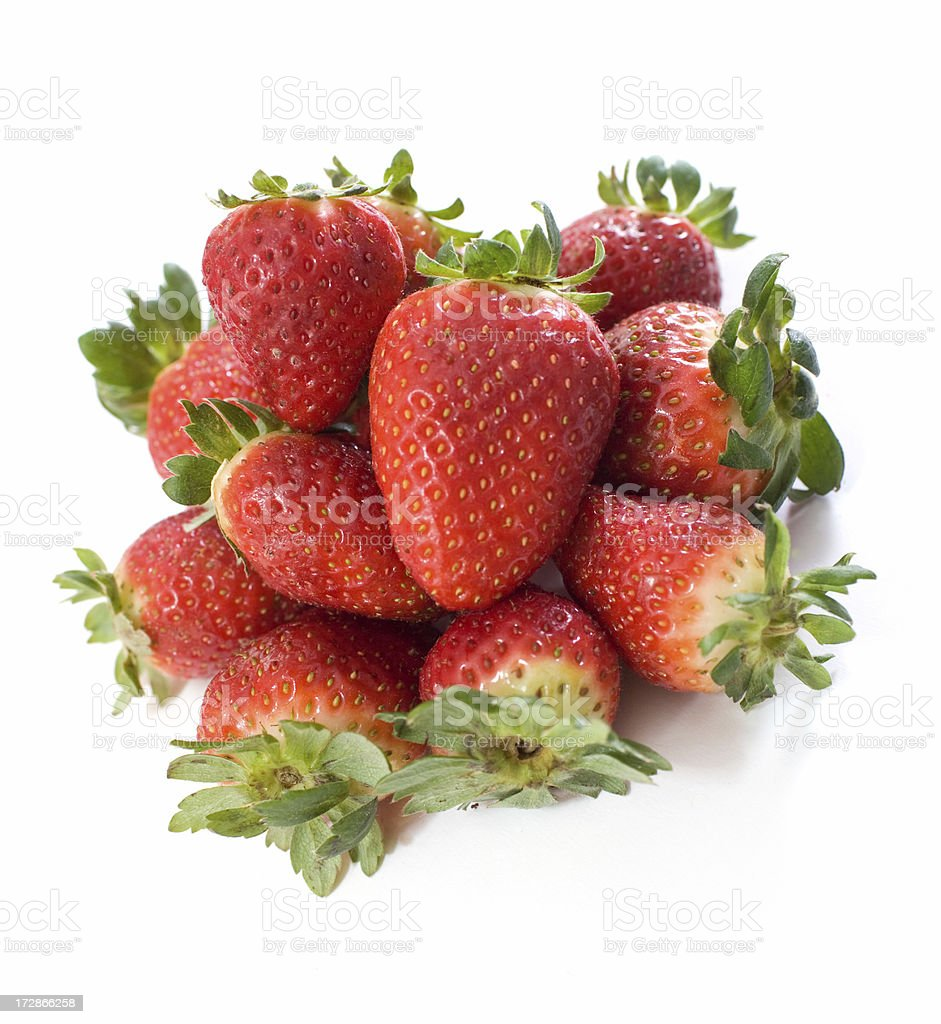 Strawberries Composition royalty-free stock photo