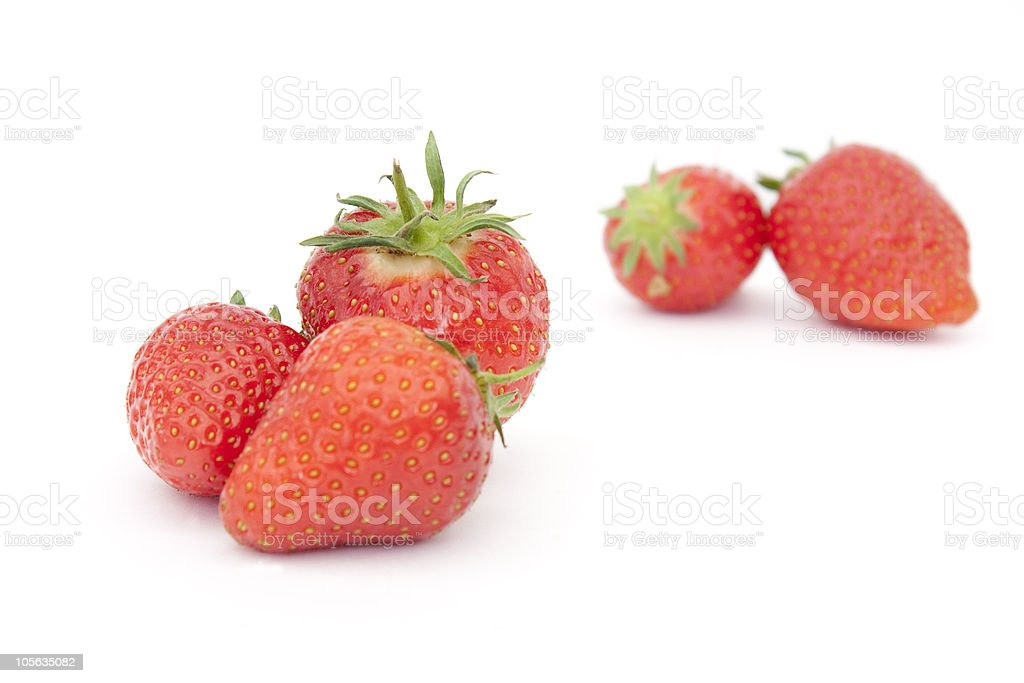Erdbeeren Lizenzfreies stock-foto