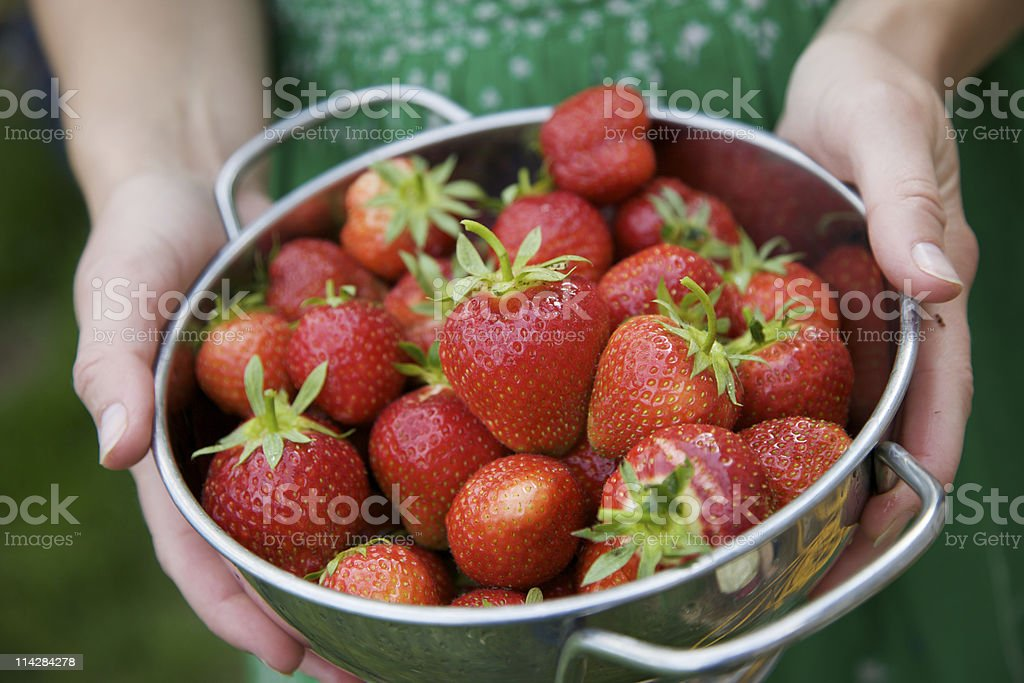 Strawberries... royalty-free stock photo