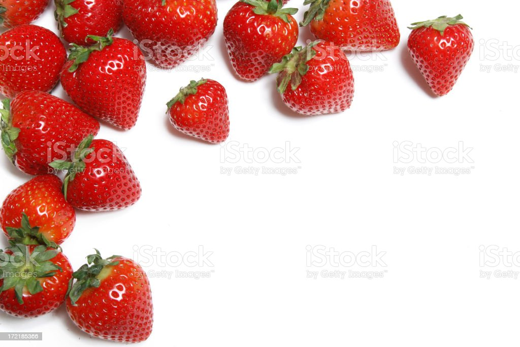 Strawberries! stock photo
