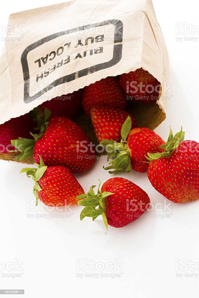 Strawberries royalty-free stock photo