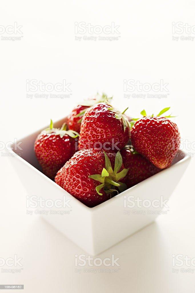 Strawberries Still Life royalty-free stock photo