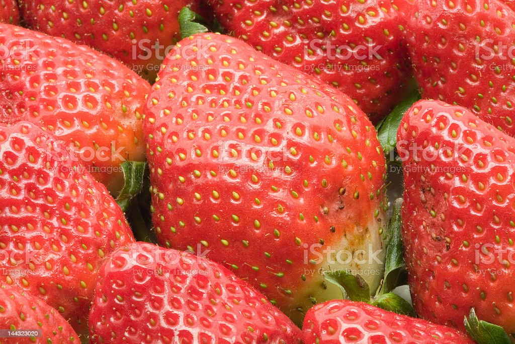 Strawberry background royalty-free stock photo